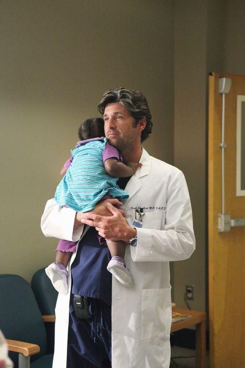 Ahnt nicht, was Meredith für einen folgenschweren Entschluss trifft: Derek (Patrick Dempsey, r.) ... - Bildquelle: ABC Studios