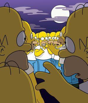 Die Simpsons - Eines Tages kauft Homer eine magische Hängematte, die ihn klon...