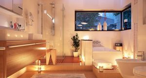 Schon Badbeleuchtung: Ideen Für Wohlfühlatmosphäre Im Bad