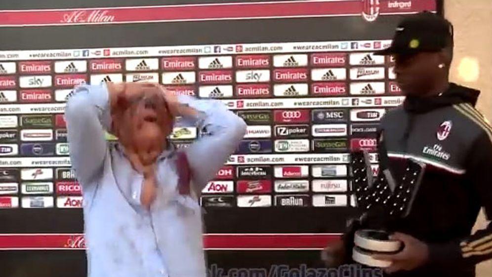 Schafft es mit seinem Fight gegen einen Zombie in die ranON Clipshow: Mario ... - Bildquelle: ran.de