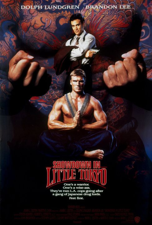 SHOWDOWN IN LITTLE TOKYO - Plakatmotiv - Bildquelle: 1991 Warner Brothers