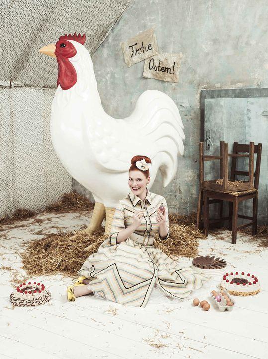 Frohe Ostern: Damit die Ostertage auch geschmacklich ein schönes Fest werden, zeigt Enie einige schöne Rezepte ... - Bildquelle: Marc Rehbeck Sixx