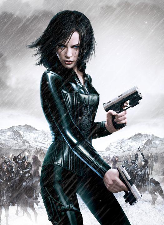"""""""Underworld: Evolution"""" mit Kate Beckinsale - Bildquelle: Sony Pictures Television International. All Rights Reserved."""