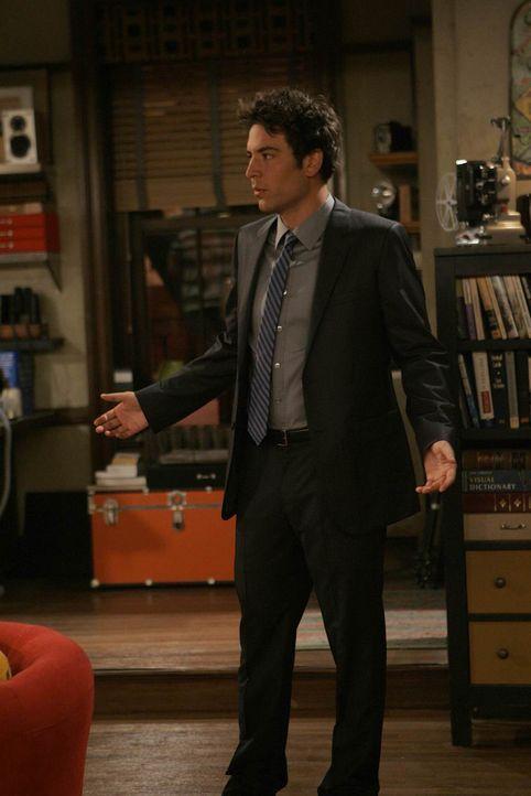 Zwischen Ted (Josh Radnor) und Barney läuft ein Wettbewerb, wer zuerst einen Dreier erlebt. Ted bekommt ein Angebot, doch kann er seine Hemmungen üb... - Bildquelle: 20th Century Fox International Television