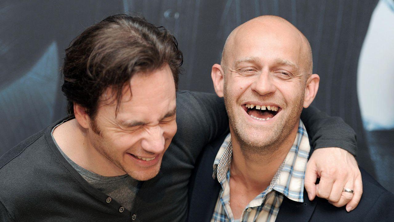 Jürgen Vogel mit Michael Bully Herbig - Bildquelle: dpa