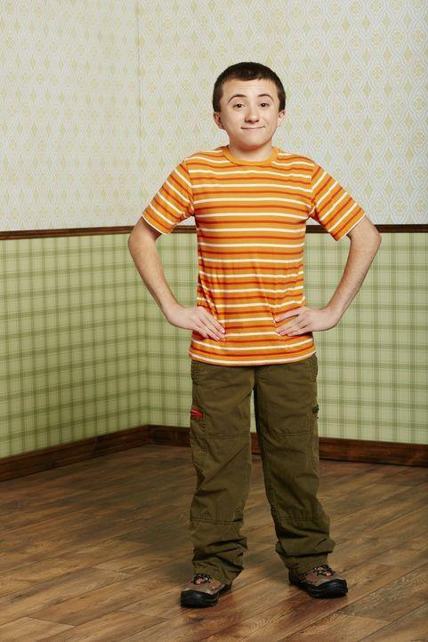 (7. Staffel) - Er ist intelligent und gebildet, hat aber Probleme, sich mit anderen Kindern anzufreunden: Brick (Atticus Shaffer) ... - Bildquelle: Warner Brothers