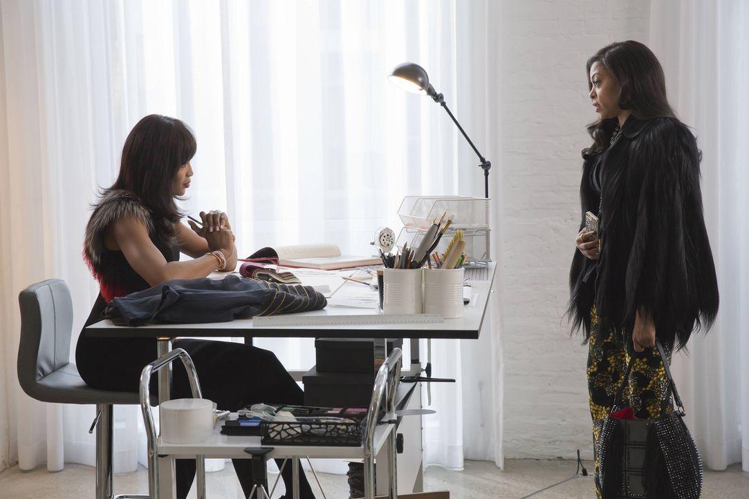 Kämpfen um die Gunst von Hakeem: Camilla (Naomi Campbell, l.) und Cookie (Taraji P. Henson, r.) ... - Bildquelle: Chuck Hodes 2015-2016 Fox and its related entities.  All rights reserved.