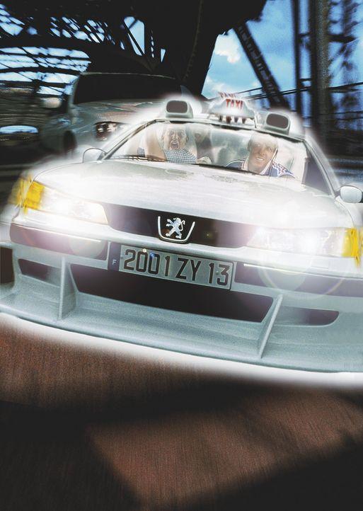 Peugeot 406 im Geschwindigkeitsrausch ... - Bildquelle: Tobis Studio Canal