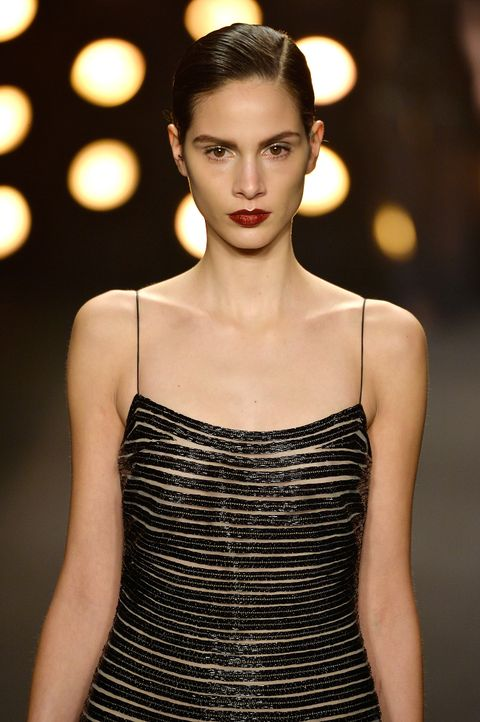 FW-NY-Topmodel-Brenda-Kranz-14-02-11-2-getty-AFP - Bildquelle: getty-AFP
