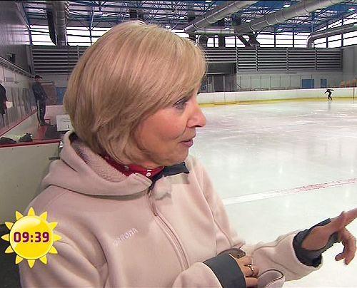 fruehstuecksfernsehen-gaby-papenburg-eiskunstlauf-001 - Bildquelle: Sat.1