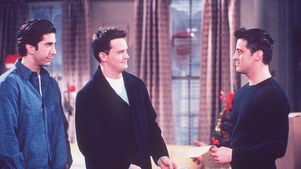 Joey (Matt LeBlanc, r.) ist auf der Suche nach einer passenden Rolle für sich...