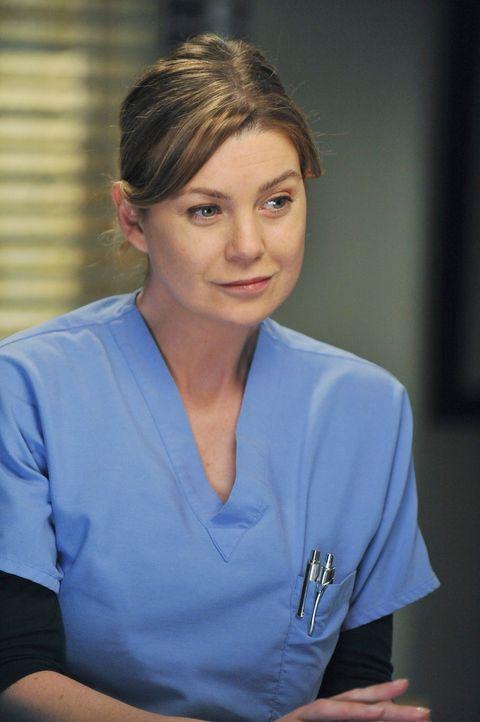 Ein neuer anstrengender Tag wartet auf Meredith (Ellen Pompeo) ... - Bildquelle: Touchstone Television