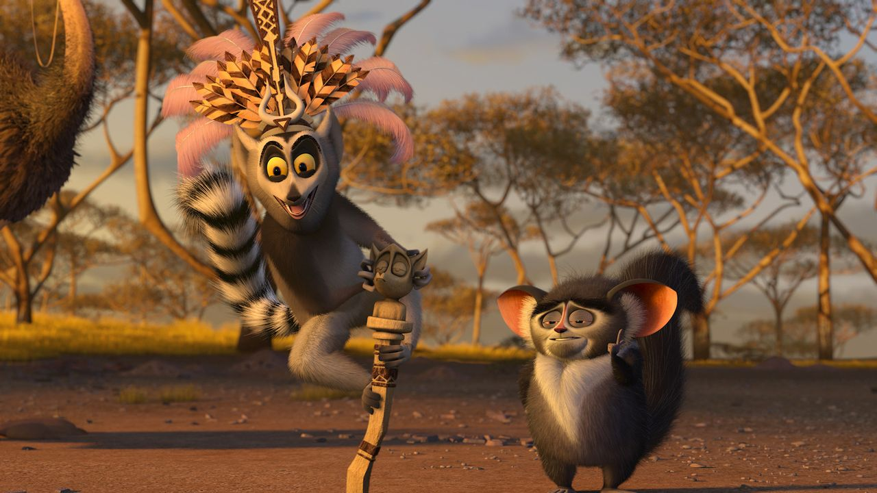 Auf wiedersehen Madagascar! Die vier New Yorker Zootiere wollen wieder ins heimatliche Amerika zurück. Doch dann sie landen in Afrika ... - Bildquelle: (2008) DREAMWORKS ANIMATION LLC. ALL RIGHTS RESERVED.
