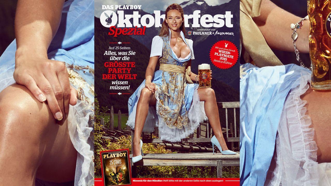 jessica_Kuehne_Cover - Bildquelle: Sacha Eyeland für Playboy Oktober 2015