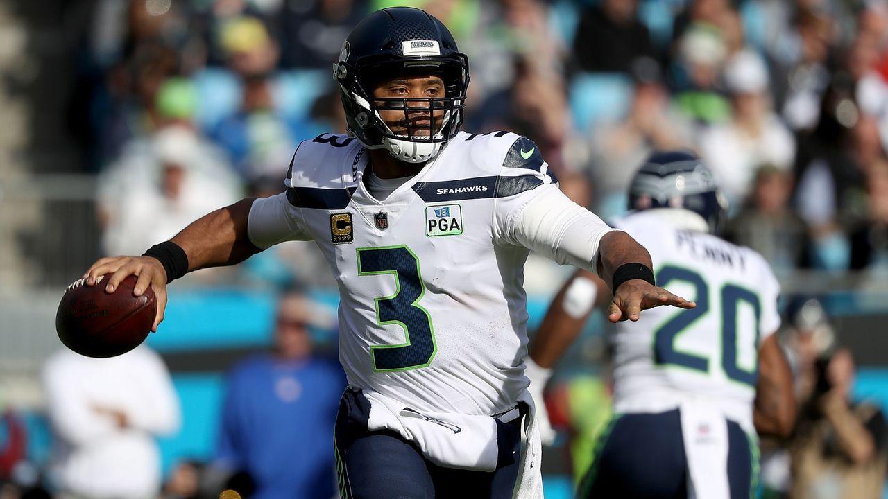 Gewinner: Russell Wilson und die Seahawks - Bildquelle: 2018 Getty Images