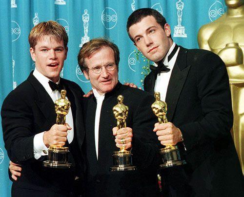 Gemeinsam schrieben sie das Drehbuch zu Good Will Hunting und versuchten lange Zeit vergeblich, es an ein Studio zu verkaufen. Mit Robin Williams (M... - Bildquelle: AFP