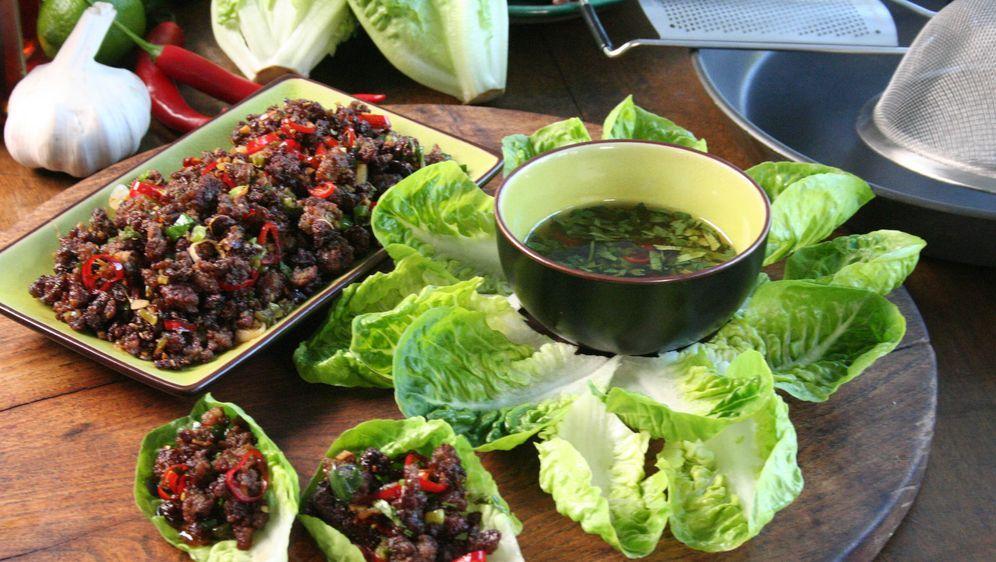 Wraps mit Chili und Salat - Bildquelle: sixx
