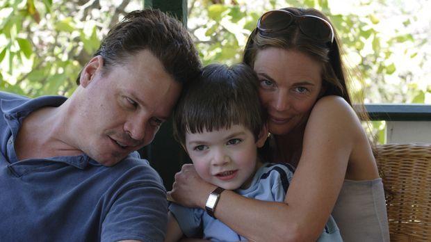 Nur scheinbar eine glückliche Familie: Seit einiger Zeit kriselt es zwischen...