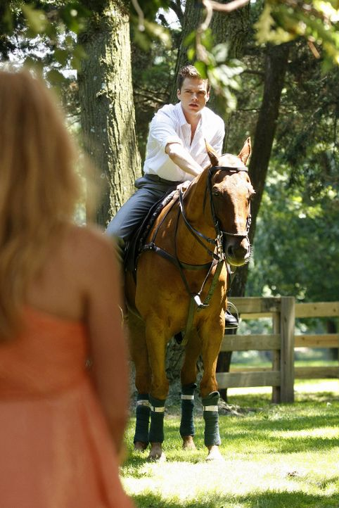 Carter (Sebastian Stan, r.) ist Serena (Blake Lively, l.) gefolgt, um sie auf ihr Aufmerksamkeit erregendes Verhalten anzusprechen ... - Bildquelle: Warner Brothers