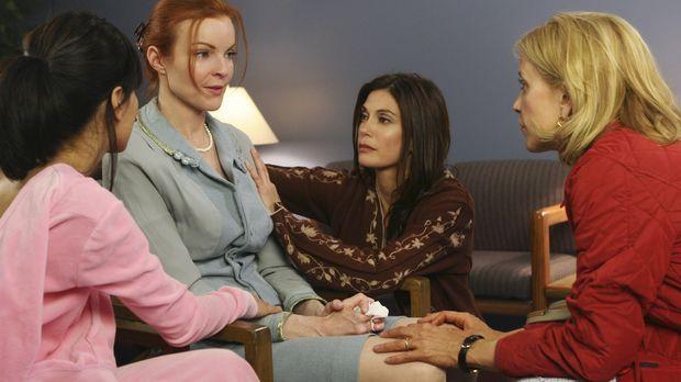 Bree (Marica Cross, 2.v.l.) ist mit den Nerven am Ende und macht sich Vorwürf...