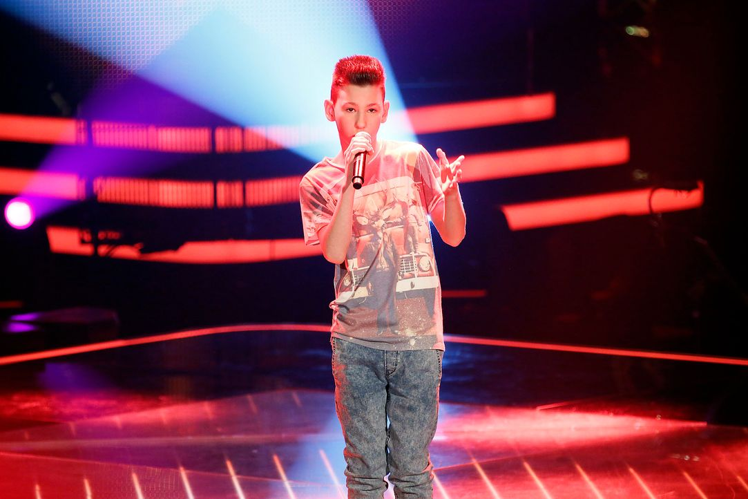 The-Voice-Kids-Stf03-Epi03-Auftritte-Michele-SAT1-Richard-Huebner - Bildquelle: SAT.1/Richard Huebner