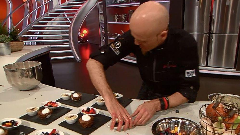Schokoladenkuchen mit Chia-Samen-Pudding