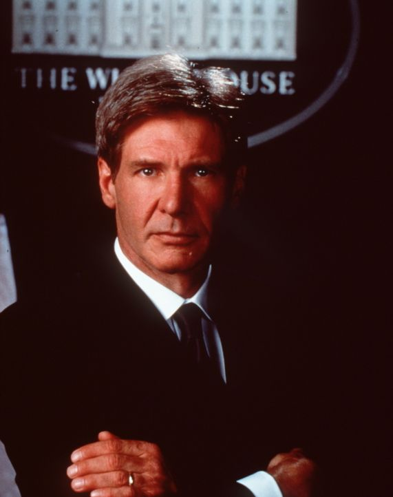 Kündigt allen Terroristen der Welt den Kampf an: US-Präsident James Marshall (Harrison Ford) ... - Bildquelle: Buena Vista International