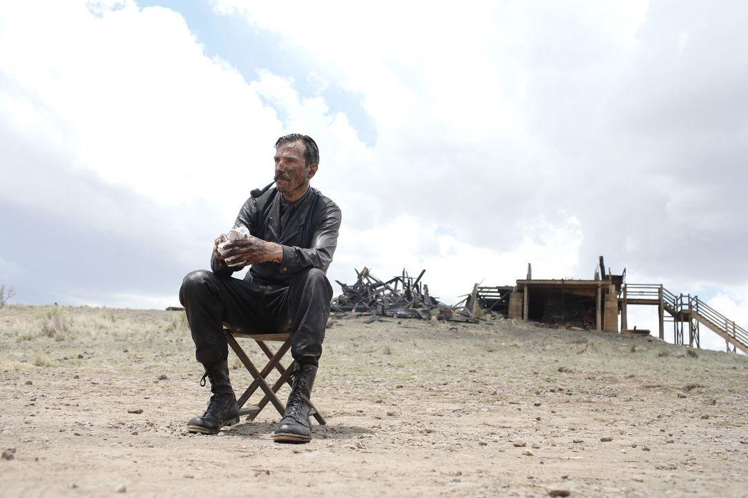 Und wieder ist Daniel Plainview (Daniel Day-Lewis) bei seiner Suche nach Öl erfolgreich gewesen ... - Bildquelle: Buena Vista International