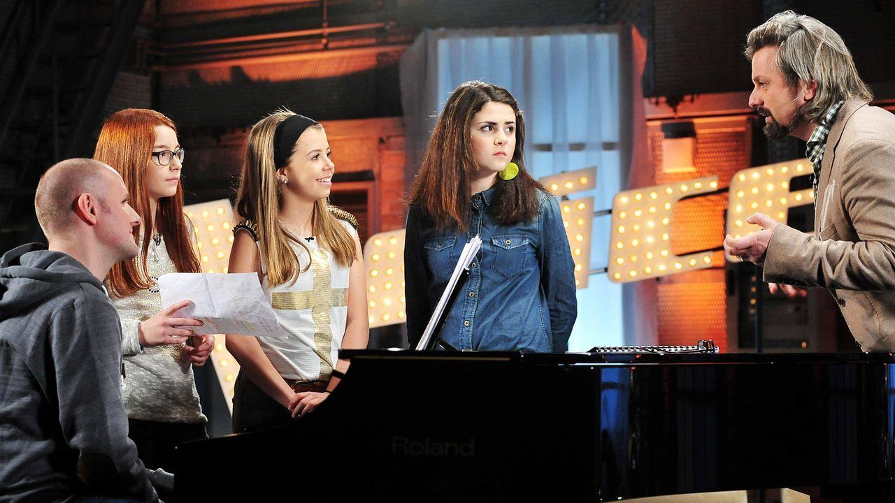The-Voice-Kids-Stf02-Epi05-Chiara-Alex-Amina-12-SAT1-Andre-Kowalski - Bildquelle: SAT.1/Andre Kowalski