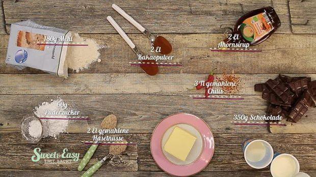 Mit nur wenigen Zutaten zaubert ihr diese köstliche Tarte!