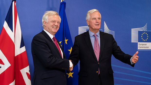 Erste Runde der Brexit-Verhandlungen läuft an