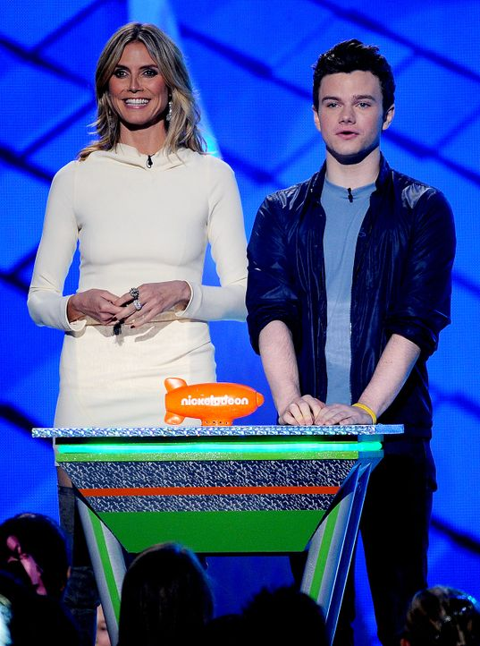 KCA-12-03-31-25-klum-colfer-getty-AFP - Bildquelle: getty-AFP