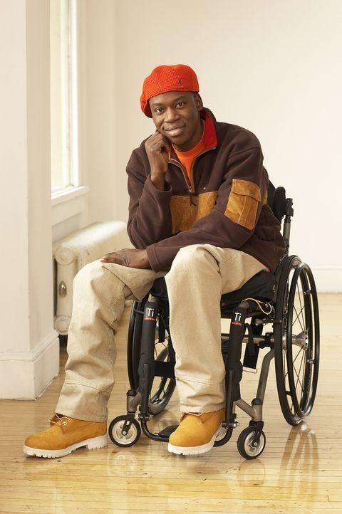 (4. Staffel) -Kann sein Leben trotz Rollstuhl genießen: Eli (Daryl Mitchell) ... - Bildquelle: TM &   Paramount
