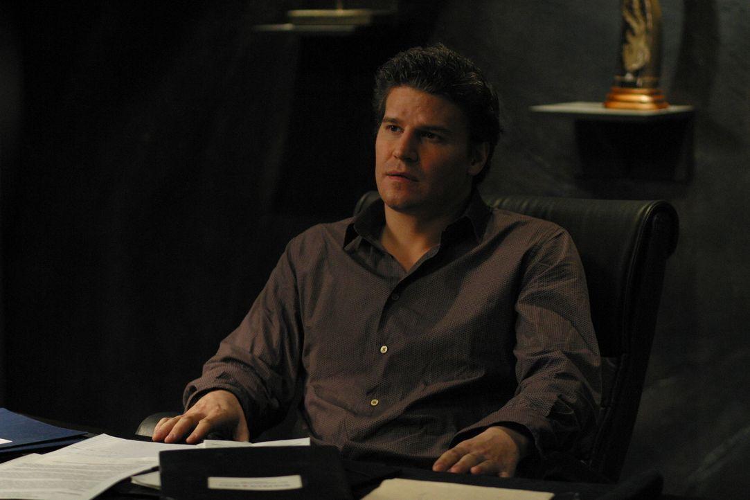 Die psychiatrische Abteilung des Krankenhauses bittet Angel (David Boreanaz) um Hilfe ... - Bildquelle: The WB Television Network