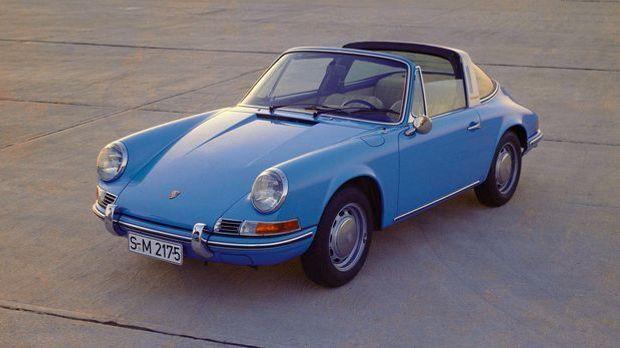 Der erste 911er: Der Porsche Targa