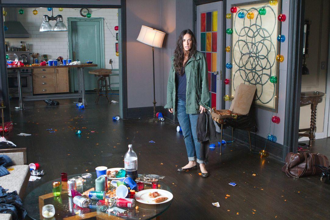 Unglücklicherweise kehrt Anne (Demi Moore) eher zurück als erwartet, und ihr ist sofort klar, dass ihre Tochter das Partyverbot missachtet hat. Lols... - Bildquelle: Constantin Film Verleih GmbH