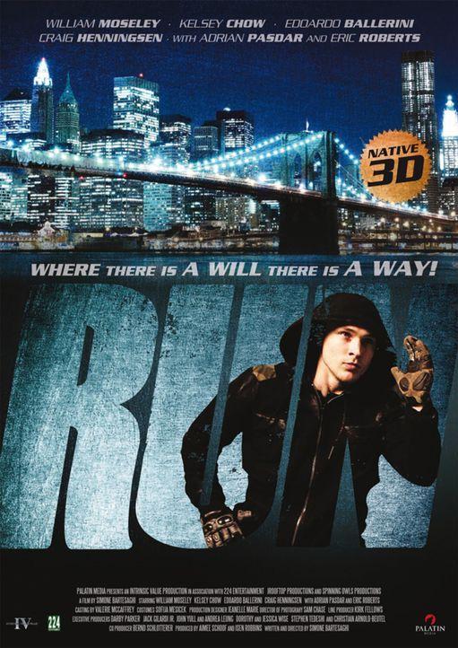 RUN - Plakatmotiv - Bildquelle: RUN THE MOVIE LLC 2011