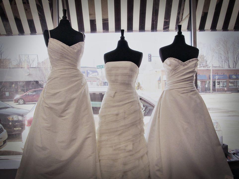 Auch ein Designer-Kleid kann ein Schnäppchen sein ... - Bildquelle: TLC