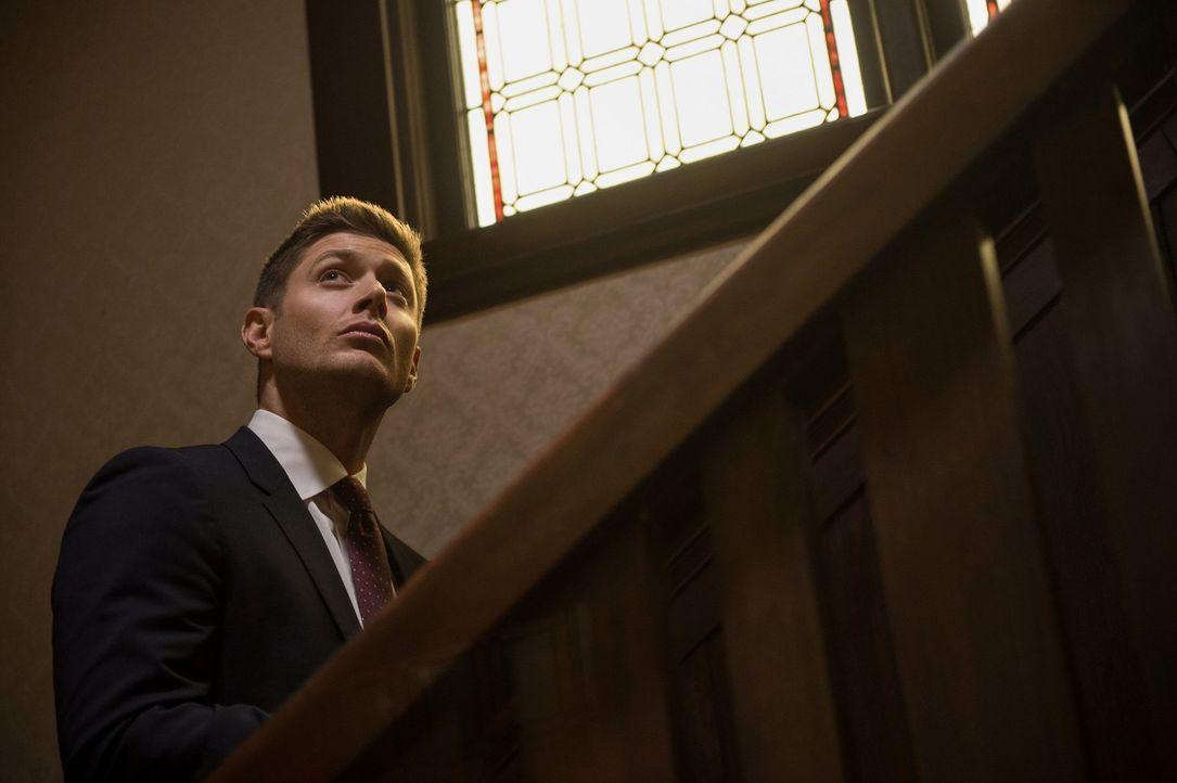 Als Dean (Jensen Ackles) erkennt, dass Bobby und Rufus vor Jahren die gleiche Kreatur jagten wie sie jetzt, müssen sie auf Erfahrungen aus der Verga... - Bildquelle: 2014 Warner Brothers