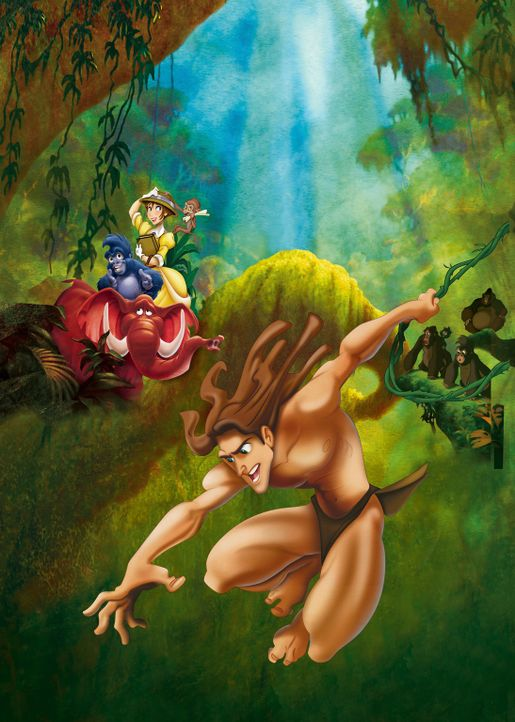 Tarzan - Artwork - Bildquelle: Edgar Rice Burroughs Inc. and Disney