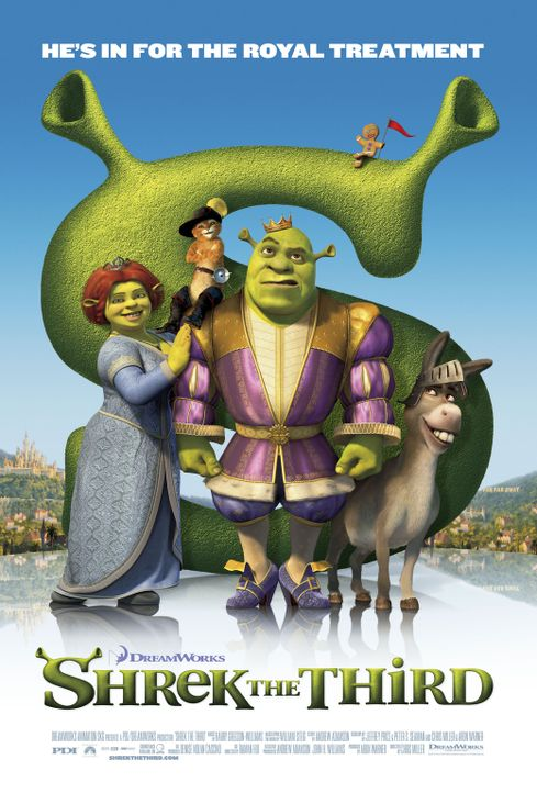 Shrek der Dritte - Plakatmotiv - Bildquelle: TM &   2007 Dreamworks Animation LLC