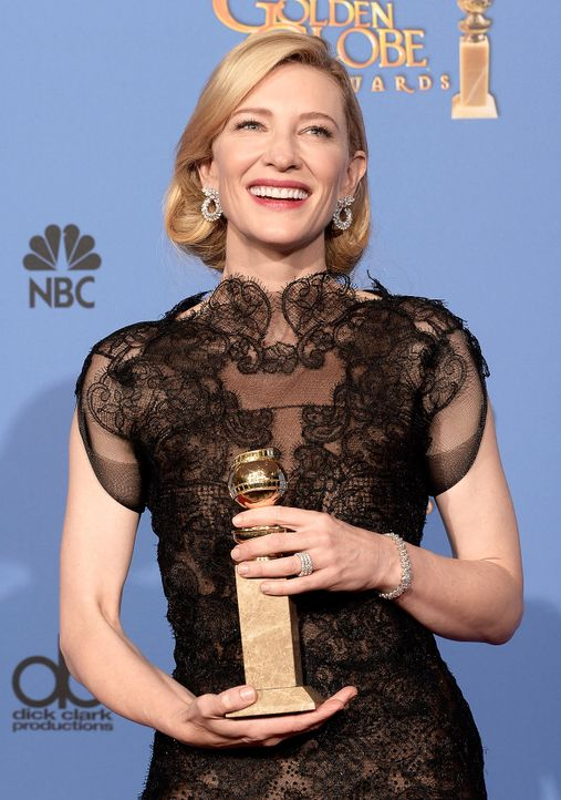 Golden-Globe-Cate-Blanchett-14-01-12-getty-AFP - Bildquelle: getty-AFP