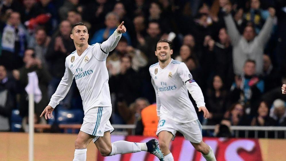 Cristiano Ronaldo erzielt sein 117. Europapokal-Tor - Bildquelle: AFPSIDJAVIER SORIANO
