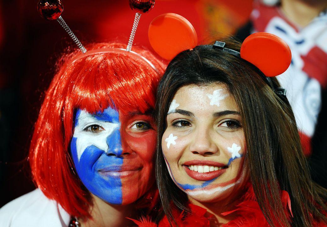 Fussball-Fans-Chile-100625-AFP - Bildquelle: AFP