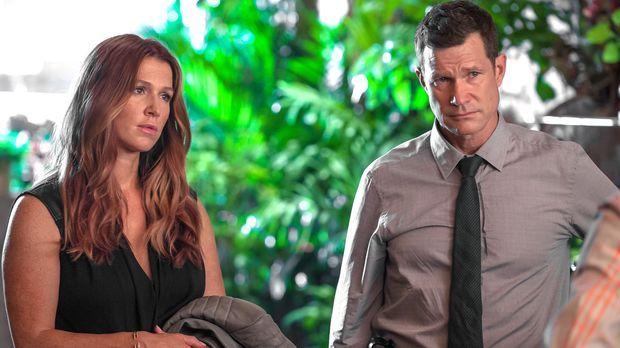 Ein neuer Fall wartet auf Detective Carrie Wells (Poppy Montgomery, l.) und D...