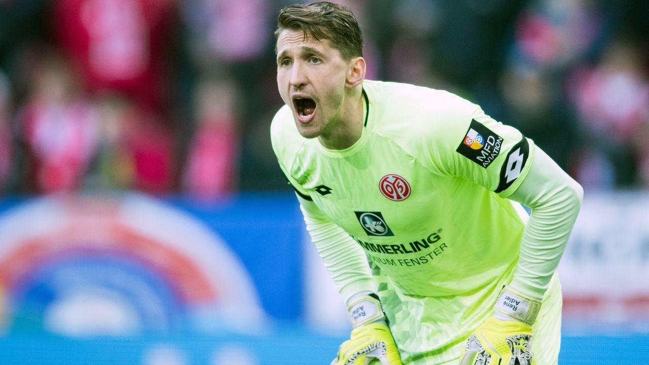 Rene Adler (1. FSV Mainz 05) - Bildquelle: 2018 Getty Images