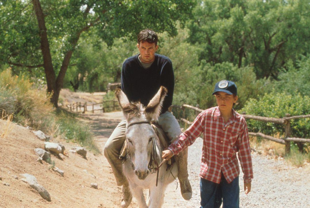Hals über Kopf macht sich Alex (Matthew Perry, l.) auf den Weg nach Mexiko, um das zu finden, was er sein Leben lang nicht kannte und immer wollte... - Bildquelle: Columbia Tri-Star