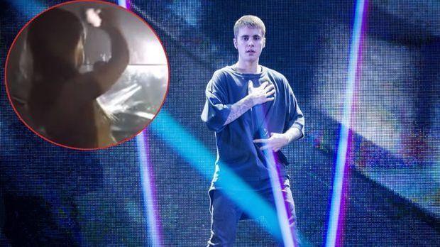 Justin Bieber auf Tour in London: Harper Beckham völlig aus dem Häuschen