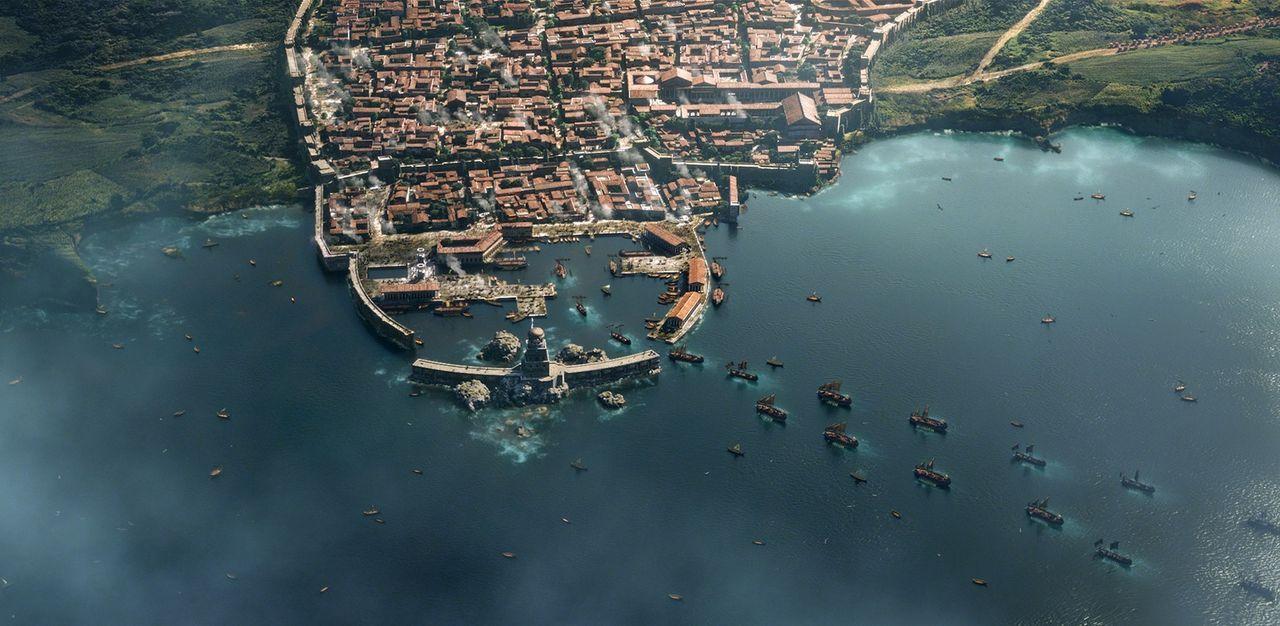 Obwohl sich Pompeii 290 v. Chr. dem römischen Bündnissystem anschließen musste, ging es der Stadt nicht schlecht. Den griechischen und phönizischen... - Bildquelle: 2014 Constantin Film Verleih GmbH/ Caitlin Cronenberg