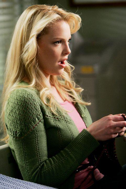 Izzie (Katherine Heigl) hat eine neue Leidenschaft entdeckt ... - Bildquelle: Touchstone Television